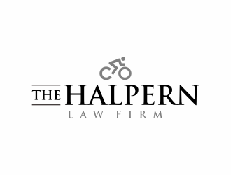 The Halpern Law Firm logo design
