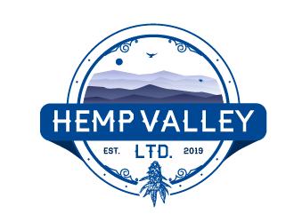 Hemp Valley Ltd. logo design by Ultimatum