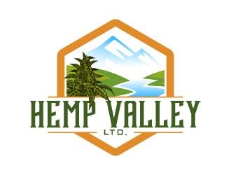 Hemp Valley Ltd. logo design by daywalker