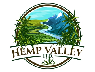 Hemp Valley Ltd. logo design by DreamLogoDesign