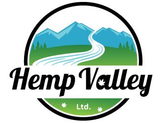 Hemp Valley Ltd. logo design by MonkDesign