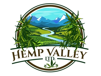 Hemp Valley Ltd. logo design
