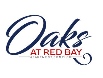 Oaks at Red Bay logo design
