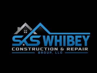 SKS Whibey Construction & Repair Group, LLC		 logo design