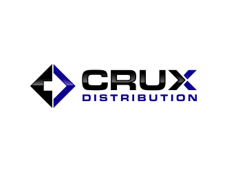 Crux Distribution logo design