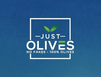Just Olives logo design
