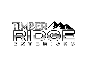 Timber Ridge Exteriors logo design