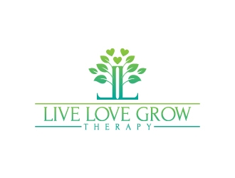 Live Love Grow Therapy Logo Design