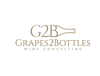 G2B - Grapes2Bottles Wine Consulting logo design