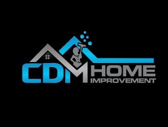 CDM Home Improvement logo design