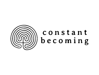 Constant Becoming logo design