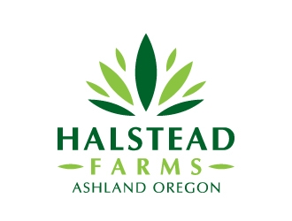Halstead Farms logo design