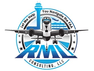 RML Consulting, LLC logo design