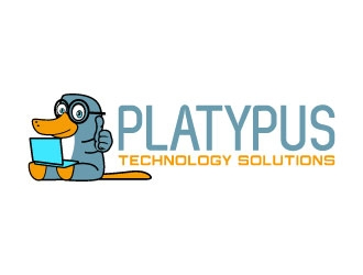 Platypus Technology Solutions logo design