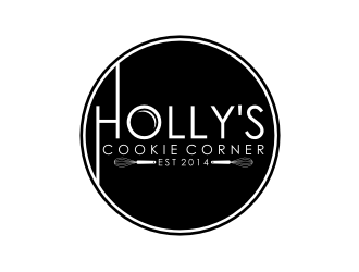 Hollys Cookie Corner logo design
