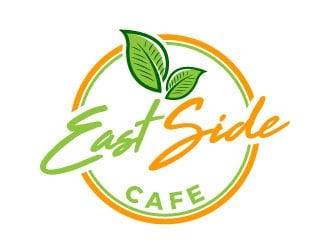 East Side Cafe logo design