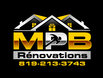 MPB Renovations logo design