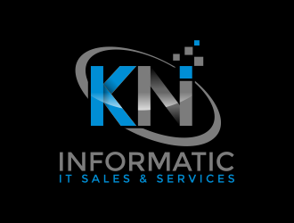 KN Informatic  (KNInformatic) logo design