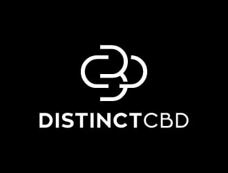 Distinct CBD logo design