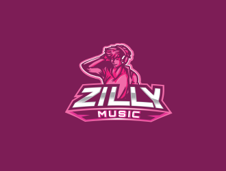 Zilly Music logo design