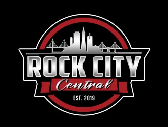 Rock City Central logo design
