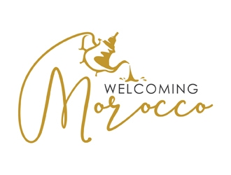 Welcoming Morocco logo design