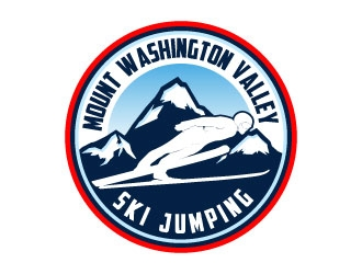 Mount Washington Valley Ski Jumping logo design