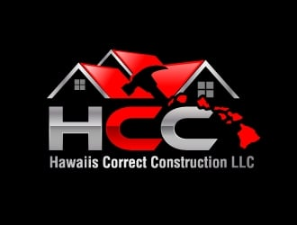 Hawaiis Correct Construction LLC logo design