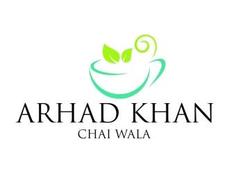 ARHAD KHAN CHAI WALA logo design by jetzu