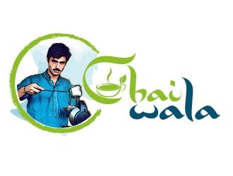 ARHAD KHAN CHAI WALA logo design by jaize