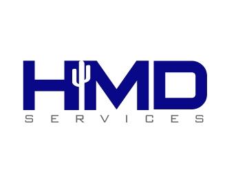 HMD Services logo design