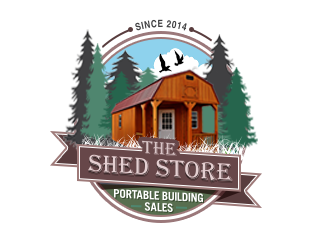 The Shed Store  logo design