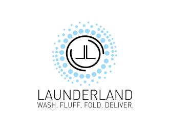Launderland  logo design