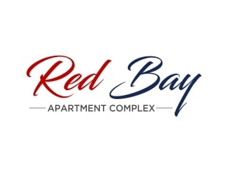Red Bay Oaks Apartment Complex logo design