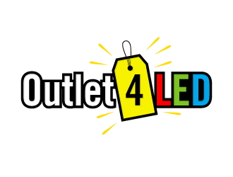 Outlet4LED logo design