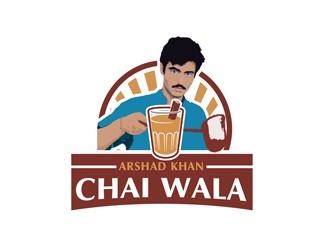 ARHAD KHAN CHAI WALA logo design by bougalla005