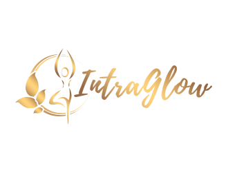 IntraGlow logo design