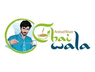 ARHAD KHAN CHAI WALA logo design