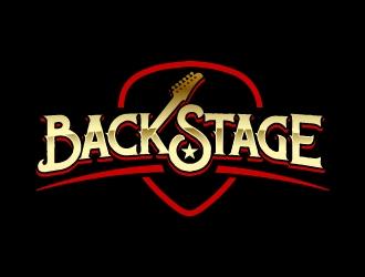 BackStage logo design