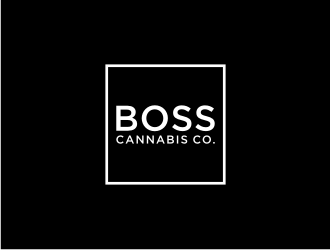 BOSS Cannabis Co. logo design