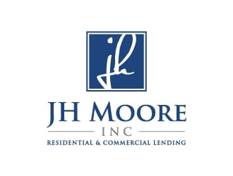 JH Moore Inc logo design