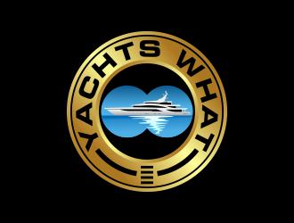 Yachts What (part of Super Yacht Captain) logo design