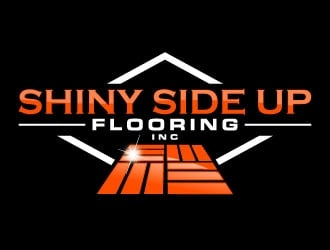 Shiny Side Up Flooring Inc logo design