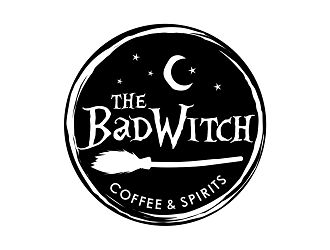 The Bad Witch logo design by haze