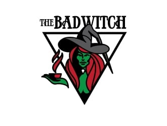 The Bad Witch logo design by asmodai