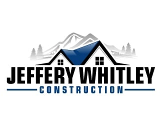 jeffery whitley construction logo design