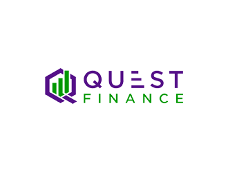 Quest Finance logo design