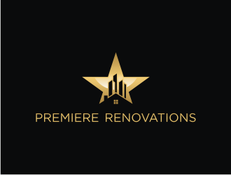 Premiere Renovations logo design winner