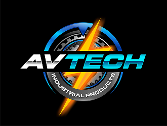 Avtech Industrial Products logo design