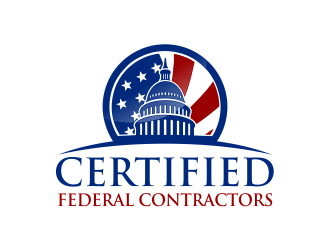 Certified Federal Contractors logo design